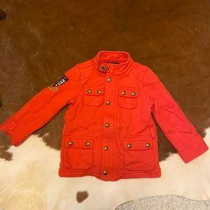 Ralph Lauren red zip up jacket